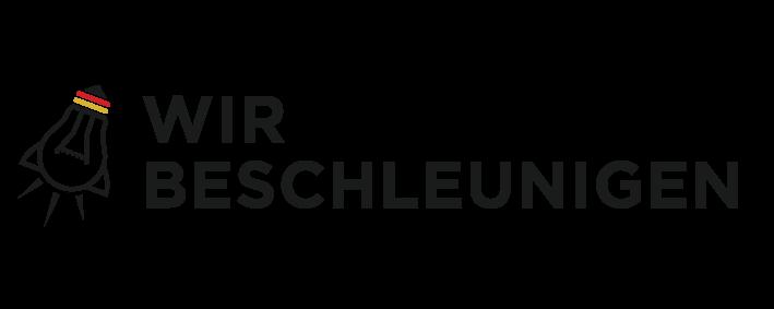 wir beschleunigen logo